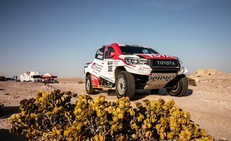 Fernando Alonso, Toyota Gazoo Racing in Namibia