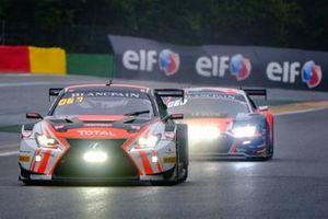 #23 Tech 1 Racing Lexus RCF GT3: Fabien Barthez, Eric Cayrolle, Bernard Delhez, Timothé Buret