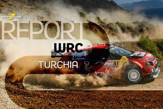 Copertina Report Rally di Turchia