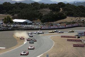 Partenza di Gara 2 a Laguna Seca