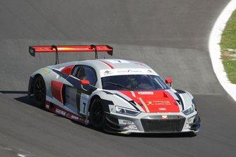 #7 Audi R8 LMS-GT3 PRO, Audi Sport Italia: Weerts-Den Tandt