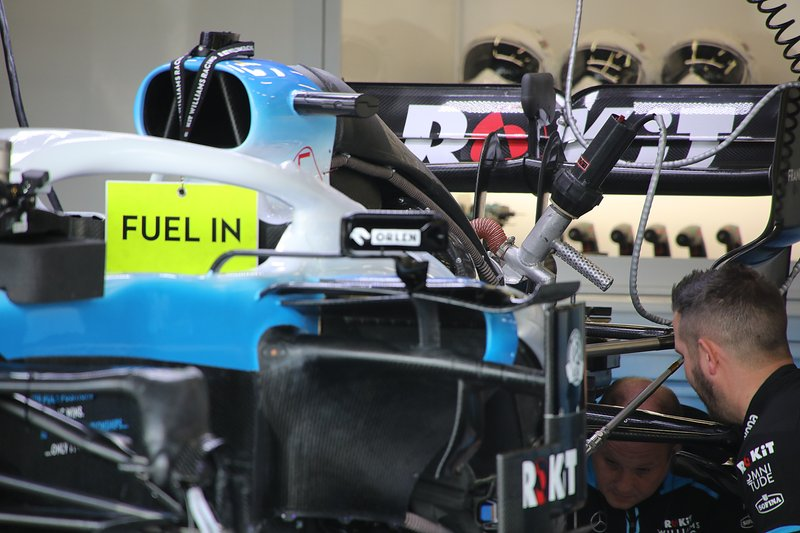 Williams FW42 rear detail