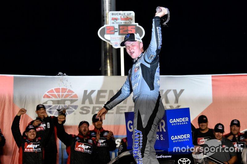 Race Winner Tyler Ankrum, DGR-Crosley, Toyota Tundra Academy Sports + Outdoors