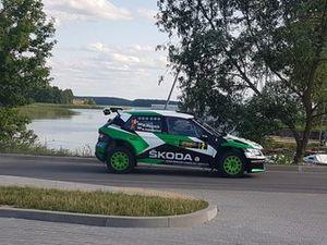 Mikołaj Marczyk, Szymon Gospodarczyk, Skoda Fabia R5, Rally elektrenai