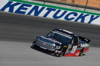 Harrison Burton, Kyle Busch Motorsports, Toyota Tundra Safelite AutoGlass