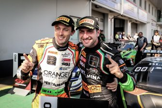 Winner #563 Orange 1 FFF Racing Team Lamborghini Huracan GT3 Evo: Andrea Caldarelli, Marco Mapelli