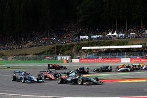 Jake Hughes, HWA RACELAB en Federico Malvestiti, Jenzer Motorsport