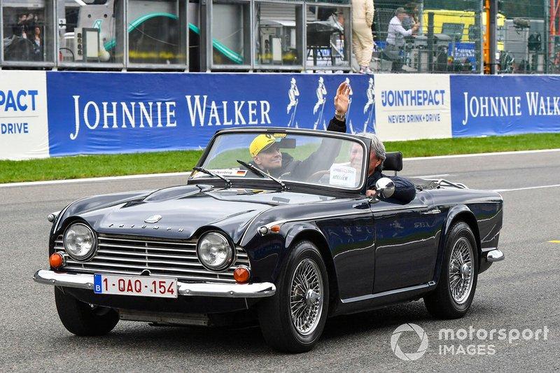 Nico Hulkenberg, Triumph TR4A