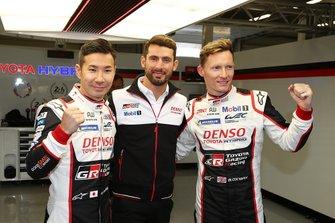 Polesitter #7 Toyota Gazoo Racing Toyota TS050 - Hybrid: Mike Conway, Kamui Kobayashi, Jose Maria Lopez