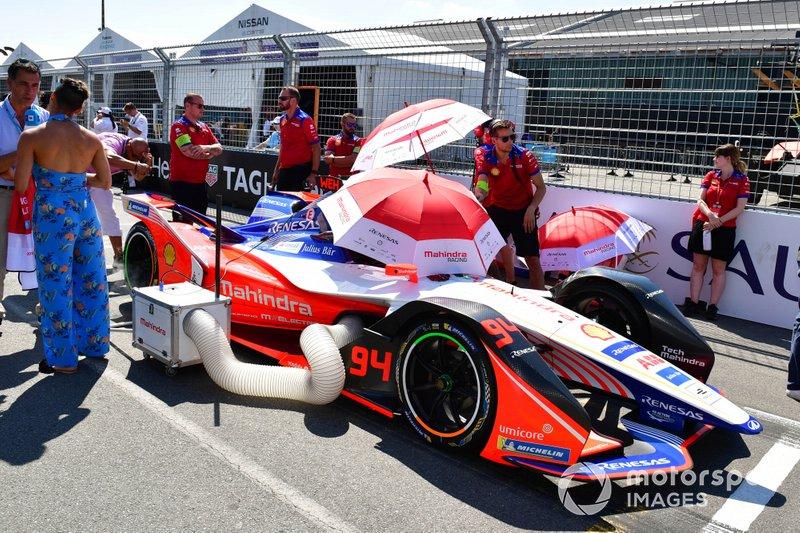Pascal Wehrlein Mahindra Racing, M5 Electro