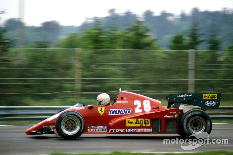 1983 Rene Arnoux, Ferrari
