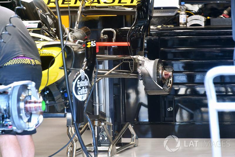 Renault Sport F1 Team R.S. 18, hátsó kerékagy