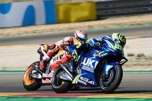 Marc Marquez, Repsol Honda Team, Andrea Iannone, Team Suzuki MotoGP, Andrea Dovizioso, Ducati Team