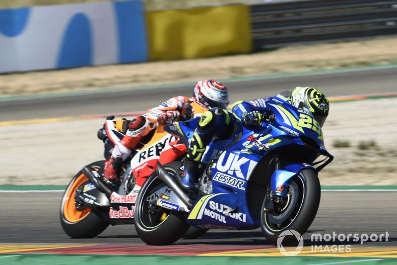 Marc Márquez, Repsol Honda Team, Andrea Iannone, Team Suzuki MotoGP, Andrea Dovizioso, Ducati Team