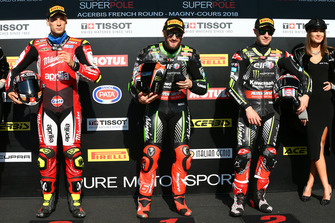 Lorenzo Savadori, Milwaukee Aprilia, Tom Sykes, Kawasaki Racing, Jonathan Rea, Kawasaki Racing
