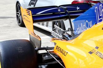 Alerón trasero del McLaren MCL33