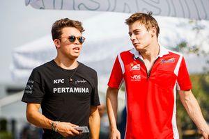 Nyck De Vries, PREMA Racing, Louis Deletraz, Charouz Racing System
