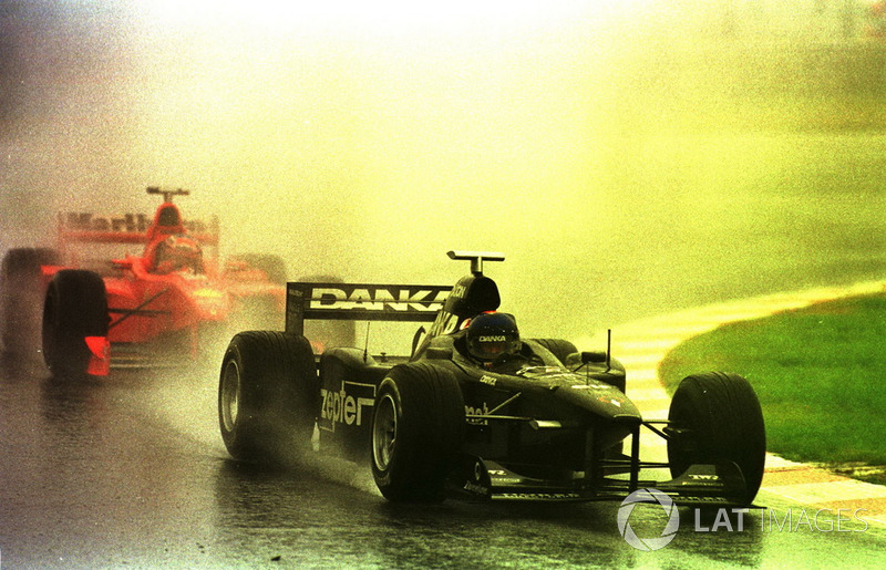 Pedro Diniz, Arrows A19, Michael Schumacher, Ferrari F300