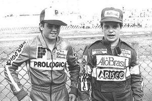 Christian Fittipaldi e Rubens Barrichello