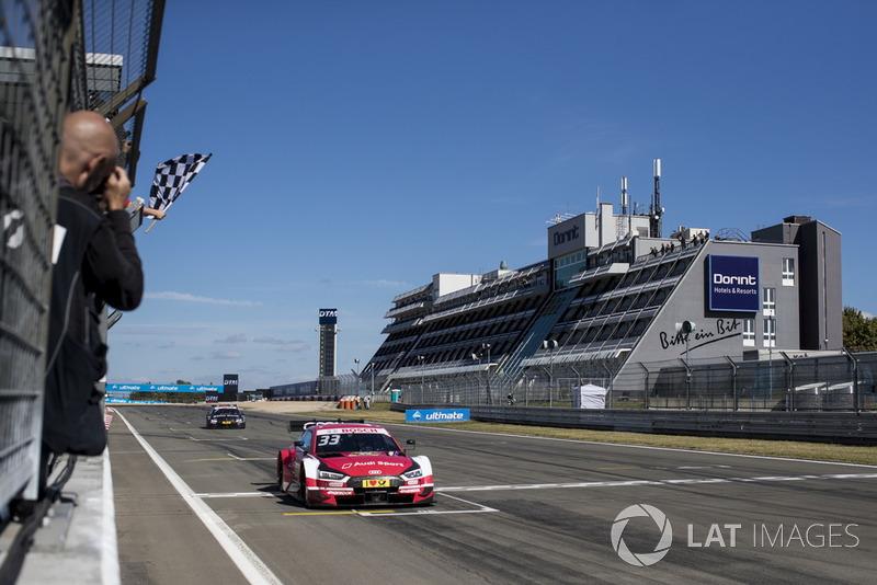 René Rast, Audi Sport Team Rosberg, Audi RS 5 DTM, finis terdepan