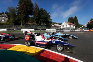 Ryan Tveter, Trident Tatiana Calderon, Jenzer Motorsport et Juan Manuel Correa, Jenzer Motorsport