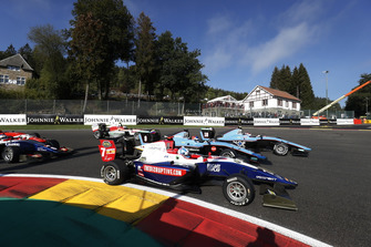 Ryan Tveter, Trident Tatiana Calderon, Jenzer Motorsport and Juan Manuel Correa, Jenzer Motorsport
