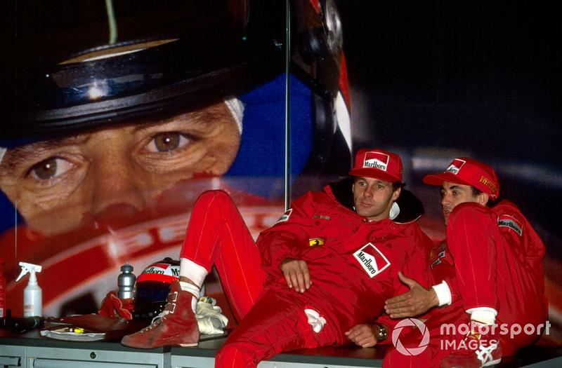 #6 - Jean Alesi und Gerhard Berger: 77