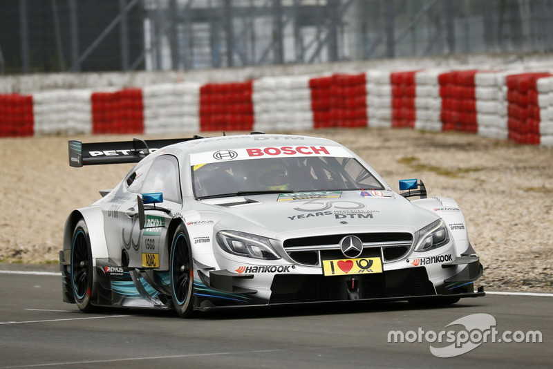 Mick Schumacher in the Mercedes-AMG C63 DTM