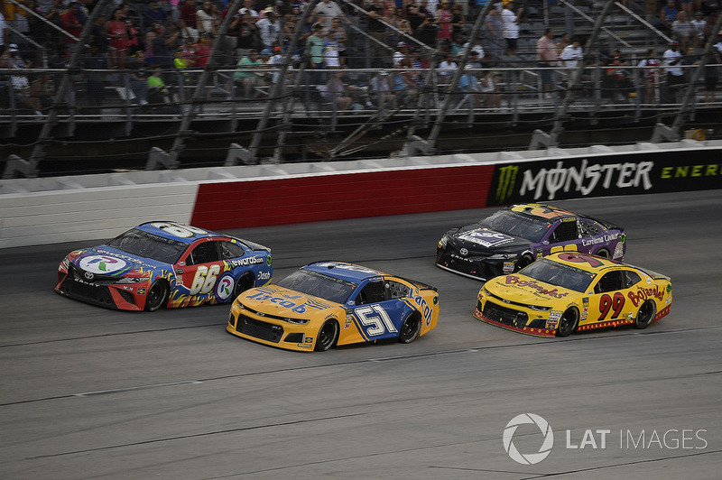 B.J. McLeod, Rick Ware Racing, Chevrolet Camaro Jacob Companies, Timmy Hill, Motorsports Business Management, Toyota Camry Rewards.com, Derrike Cope, StarCom Racing, Chevrolet Camaro Bojangle's, e Joey Gase, BK Racing, Toyota Camry Sparks Energy