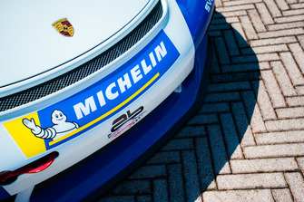 Dettaglio della Porsche GT3 Cup di Francesco De Luca, AB Racing