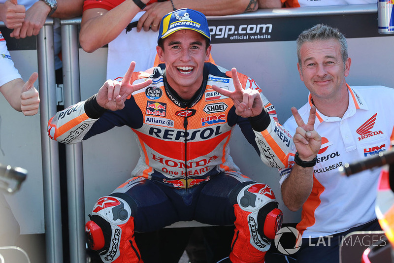 Друге місце Марк Маркес, Repsol Honda Team