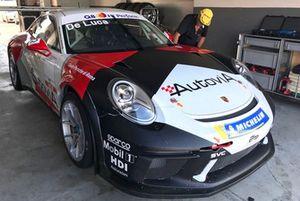 La Porsche 911 GT3 Cup di Francesco Massimo De Luca, AB Racing