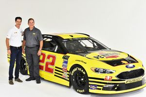Joey Logano special paint scheme for Darlington