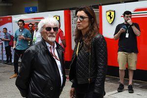 Bernie Ecclestone and Fabiana Ecclestone