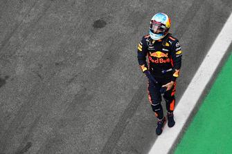 Daniel Ricciardo, Red Bull Racing in parc ferme