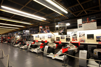 The McLaren F1 car collection