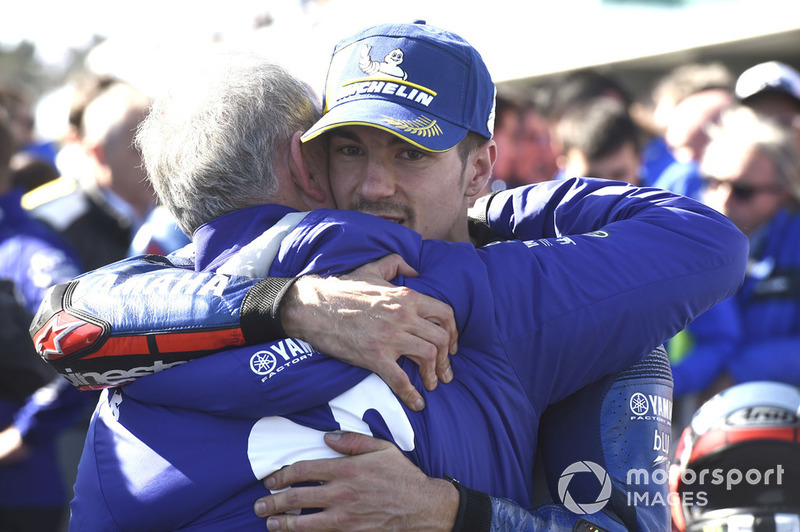 Race winner Maverick Viñales, Yamaha Factory Racing, Ramon Forcada, Yamaha Factory Racing