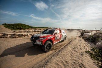 #351 Mitsubishi Eclipse Cross-Sodicars Racing: Cristina Gutierrez Herrero, Pablo Moreno Huete