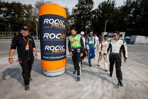 The ROC Mexico competitors receive a briefing before their Skills Challenge