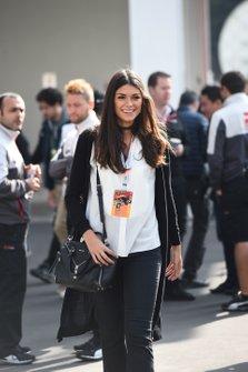 Linda Morselli, girl friend of Fernando Alonso