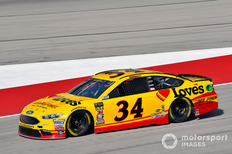29. Michael McDowell, Front Row Motorsports, Ford Fusion Love's/ Luber Finer