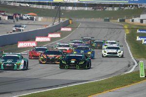 #48 Paul Miller Racing Lamborghini Huracan GT3, GTD: Madison Snow, Bryan Sellers, Corey Lewis