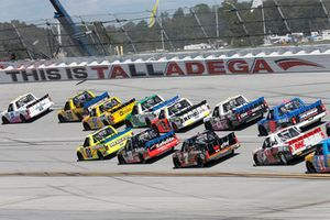 Spencer Gallagher, GMS Racing, Chevrolet Silverado Allegiant Grant Enfinger, ThorSport Racing, Ford F-150 Champion Power Equipment/Curb Records David Gilliland, Kyle Busch Motorsports, Toyota Tundra Pedigree Matt Crafton, ThorSport Racing, Ford F-150 Fisher Nuts/ Menards Matt Crafton, ThorSport Racing, Ford F-150 Fisher Nuts/ Menards