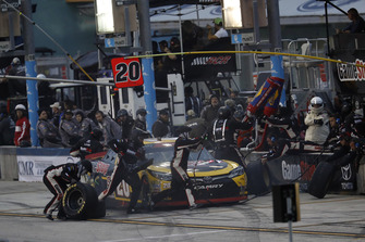 Christopher Bell, Joe Gibbs Racing, Toyota Camry GameStop Transformers, pit stop