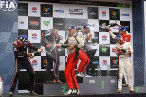 Jari-Matti Latvala, Miikka Anttila, Toyota Gazoo Racing, Hayden Paddon, Sebastian Marshall, Hyundai Motorsport, Mads Ostberg, Torstein Eriksen, Citroën World Rally Team