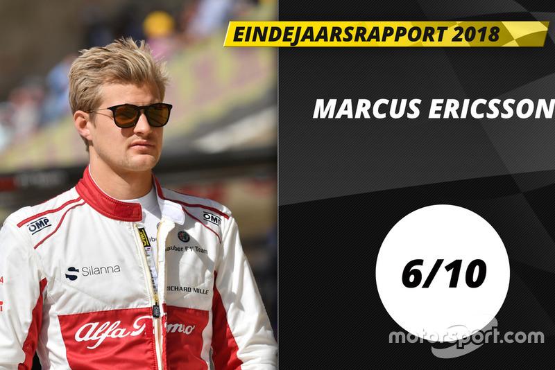 Eindrapport 2018: Marcus Ericsson