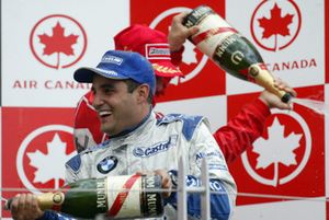Podium: Juan-Pablo Montoya, BMW Williams