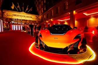 McLaren road car on the red carpet