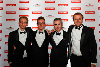 Sylvain Filippi, Daniel Ryan, Adrian Atkinson and Jack Nicholls