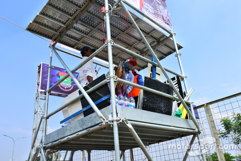 Tower start/finis, BSD City Grand Prix 2018